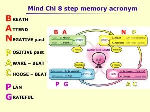 Mind Chi 8 step memory aid - BAN PAC PG!