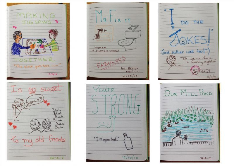 Pages from our Brag Book